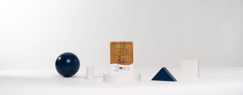 E03 : Wood and plexiglas bespoke deal toy