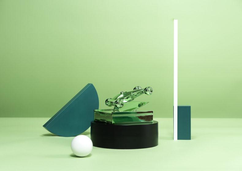 A04 : Trophée en 3D avec métallisation