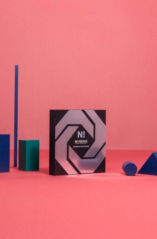 B12 : Wood & plexiglas award