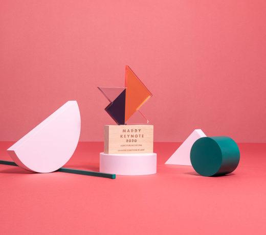 P09 : Plexiglas & wood award